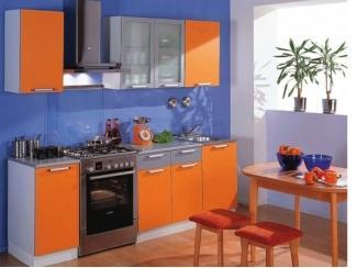 Кухня прямая София МДФ оранжевый - Мебельная фабрика «Мастер Мебель-М»