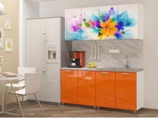 Прямая кухня с фотопечатью Фантазия  - Мебельная фабрика «Disavi»