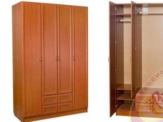 Шкаф 4-х дверный - Мебельная фабрика «Ромис»