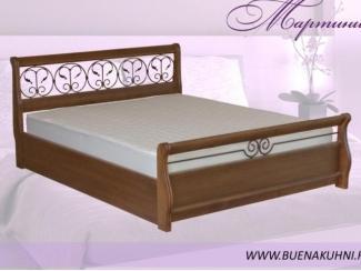 Двуспальная кровать Мартини   - Мебельная фабрика «Buena»
