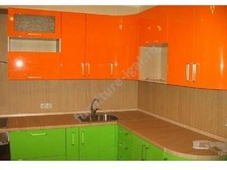Яркая угловая кухня  - Изготовление мебели на заказ «Игал»