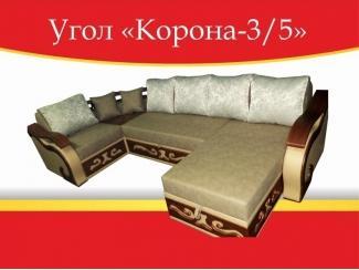 Угловой диван Корона-3/5 - Мебельная фабрика «Корона»