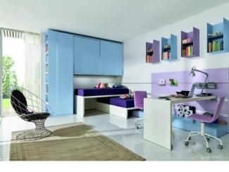 Детская мебель для двух детей Атлантида - Мебельная фабрика «Триана»