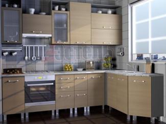 Кухонный гарнитур Беленый дуб - Мебельная фабрика «Эстель»