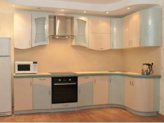 Кухня угловая с плавными линиями  - Салон мебели «Красивые кухни»