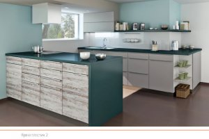 Кухня пластик 2 - Мебельная фабрика «ПластДекор»
