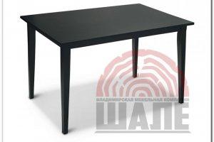 Стол обеденный черный ДЭВИД - Мебельная фабрика «ВМК-Шале»