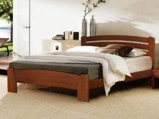 Кровать Селена-7 массив бука - Мебельная фабрика «Диамант-М»