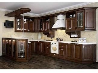 Кухня угловая Имола натуральные фасады - Мебельная фабрика «Основа-Мебель»