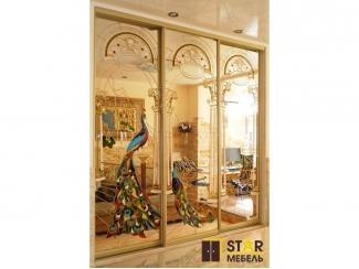 Шкаф в золотом цвете - Мебельная фабрика «STAR мебель»