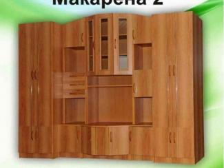 Гостиная стенка Макарена 2 (ЛДСП) - Мебельная фабрика «Элна»