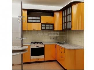 Оранжевая кухня Арт-Модерн 3 - Мебельная фабрика «Аркадия-Мебель»