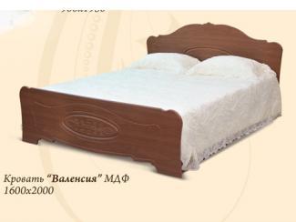 Кровать Валенсия - Мебельная фабрика «Шанс»