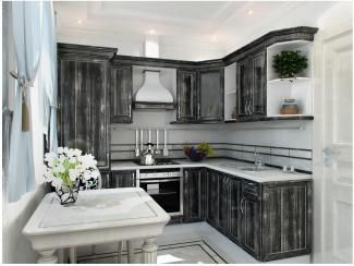 Кухня угловая Эйми патина - Мебельная фабрика «Вариант М»