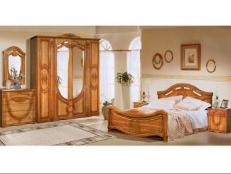Спальня Александрина 2.6.4 - Мебельная фабрика «Ружанская мебельная фабрика»