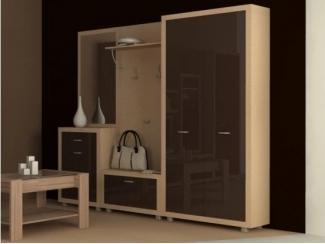 Мебель для прихожей с глянцевыми фасадами Палермо