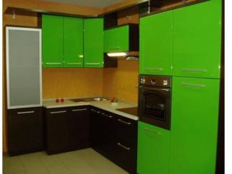 Кухня угловая «Яблоко» - Мебельная фабрика «Евромебель»