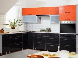 Большая кухня с угловой раковиной Metrio Д 4.1 - Мебельная фабрика «ИнтерЛиния»