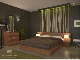 Спальня Бамбуковая композиция Веста 188 - Мебельная фабрика «Роникон»
