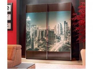 Шкаф-купе 2 створки фотопечать  - Мебельная фабрика «Вита-мебель»