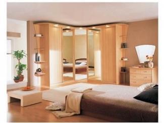 Спальный гарнитур с угловым шкафом  - Мебельная фабрика «Папа Карло»