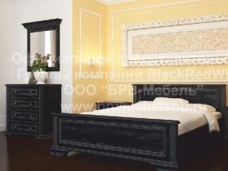 Спальный гарнитур Найт - Импортёр мебели «БРВ-Мебель (Black Red White)»