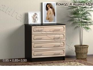 Комод 4 ящика МДФ - Мебельная фабрика «Ангелина-2004»