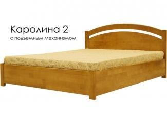 Кровать Каролина 2 - Мебельная фабрика «Массив»