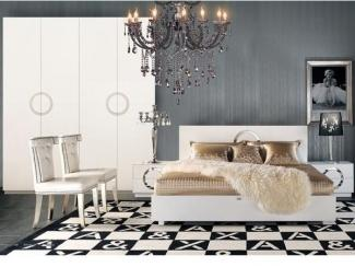 Белая спальня - Импортёр мебели «Стиль (Armani&Xavira, Италия)», г. Москва