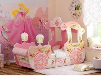 Детская Карета розовая - Мебельная фабрика «Red River»