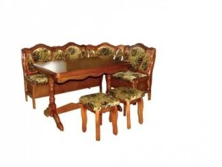 Обеденная группа Венеция темная - Мебельная фабрика «Венеция»
