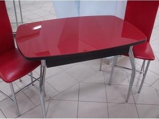 Стол обеденный СО 7 красное стекло