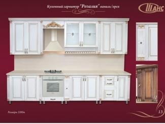 Кухонный гарнитур прямой Розалия - Мебельная фабрика «Шанс»