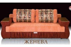 Красивый прямой диван Женева  - Мебельная фабрика «Альянс-М»