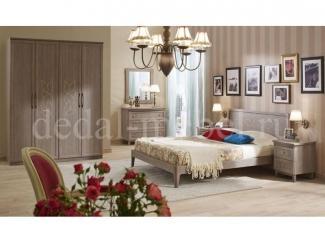 Светлый спальный гарнитур Лотос - Мебельная фабрика «Дедал»
