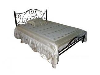 Большая кровать Медея-1600  - Мебельная фабрика «Металл конструкция»