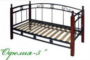 Кровать Офелия 5 - Мебельная фабрика «МПМ», г. Кузнецк