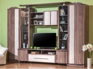 Вместительная мебель для гостиной Новелла 68 Шамони - Мебельная фабрика «Мебель Черноземья»