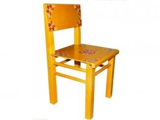 Стул детский с росписью  - Мебельная фабрика «Фабрика Детской Игрушки»