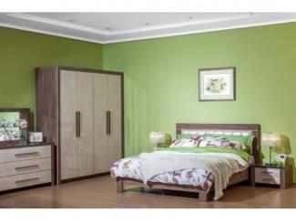 Спальный гарнитур Мартель 2 Шамони  - Мебельная фабрика «Мебель Черноземья»