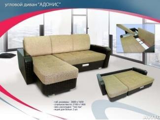 Большой угловой диван Адонис - Мебельная фабрика «Софт-М», г. Ульяновск