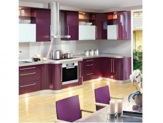 Кухня с фасадом пластик-акрил  - Мебельная фабрика «Крона Мебель»