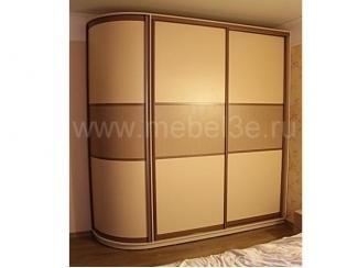 Трехсекционный радиусный шкаф купе - Мебельная фабрика «ТРИ-е»