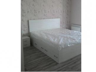 Кровать белая - Мебельная фабрика «Альфа-Мебель»