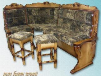 Кухонный уголок Барон резьба - Мебельная фабрика «Заря»