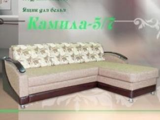 Диван угловой Камила 5-7 - Мебельная фабрика «Веста»