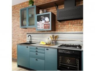 Простая кухня Лофт  - Изготовление мебели на заказ «Кухни ЧУ»