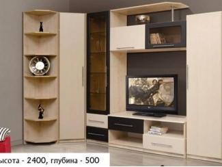Гостиная стенка угловая Дива 1 - Мебельная фабрика «Евростиль»