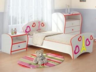Спальный гарнитур Соната Kids для девочки - Мебельная фабрика «Орматек»