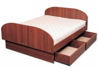 Кровать 2-х спальная с ящиками